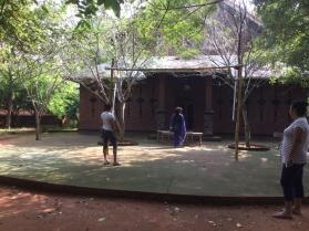 amphitheatre at Adishakti, Auroville