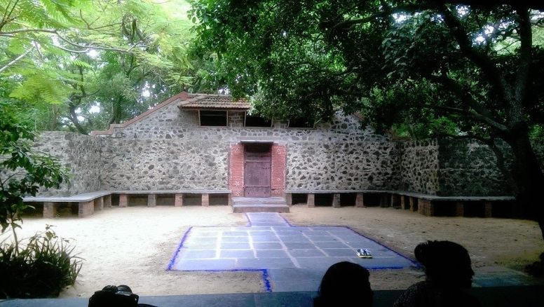 original venue at SPACES, Chennai