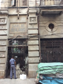 Saklat Bhavan - entrance
