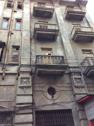 Saklat Bhavan - facade